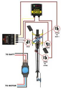 heli addict trex 450 sport wiring