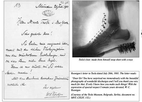 Tesla X Rays Nikola Tesla
