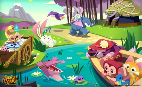 animal jam anime adventure wallpaper wallpapers collection