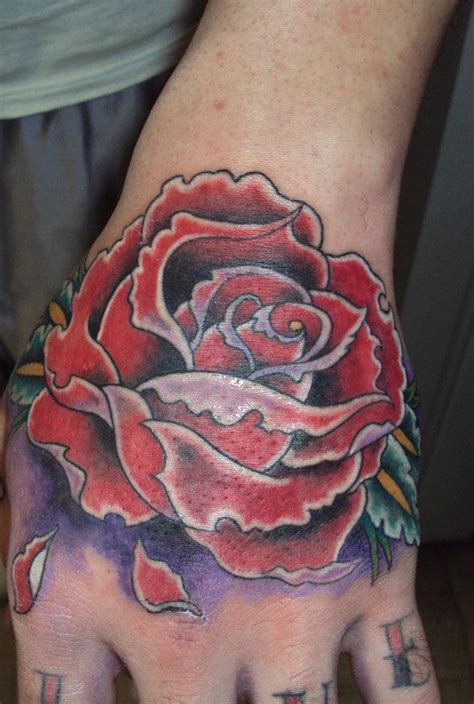 open rose tattoo custom work open skin