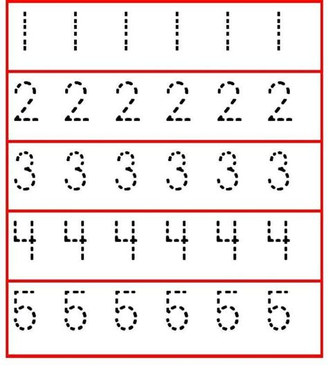 printable numbers toddlers 10 best images about teaching number writing on