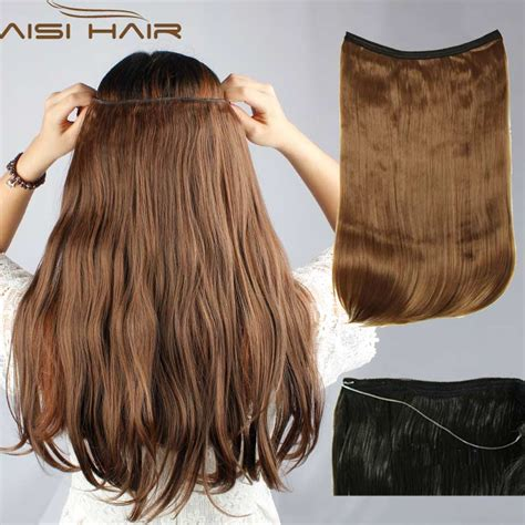 invisible line hair extensions invisible hair extension reviews online shopping