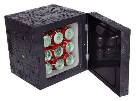 energy drink zombicide trek borg cube mini fridge gadgetsin