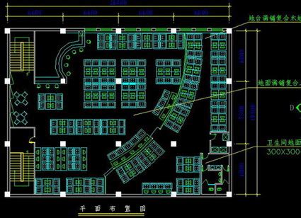 library layout plan autocad commercial interior design hiphop bar renovation plan