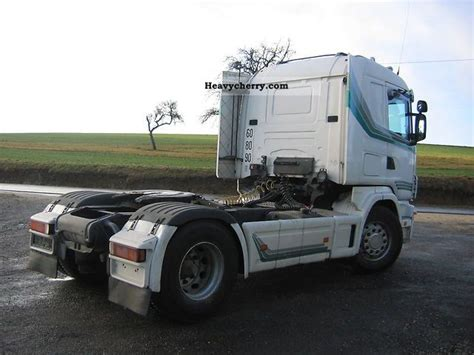 scania truck 1997 standard tractor trailer unit photo and