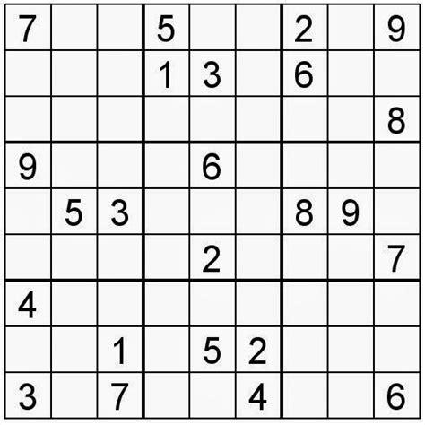 Descargar Sudokus Samurai Para Imprimir 50408 Sudoku 99   83 mejores im 225 genes de sudoku en pinterest rompecabezas