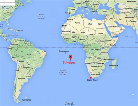 st helena on world map the questions where is st helena what size is st helena