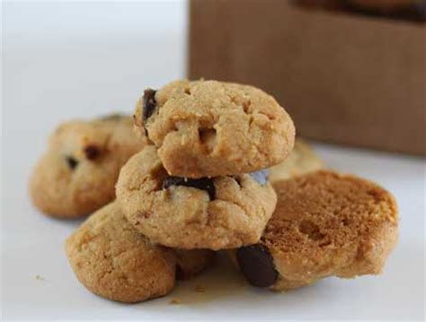 mini peanut butter chocolate chip toffee cookies cookie