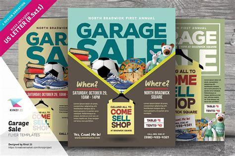 garage sale flyer templates flyer templates creative