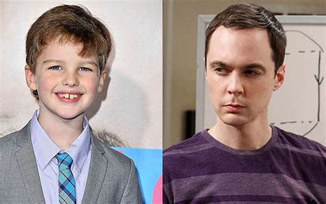 how old is actor young sheldon iain armitage actor playing role of young sheldon cooper