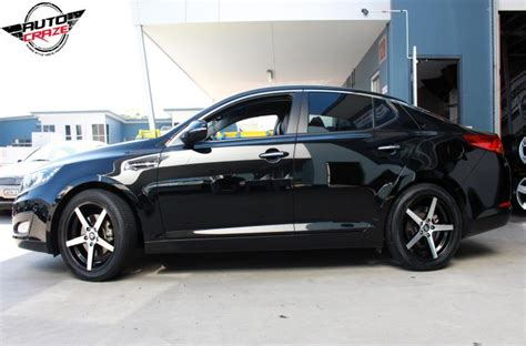 Matte Black Kia Optima Kia Optima Wheels Top Brand Kia Optima Rims And Tyres