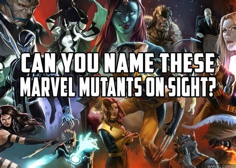 marvel film quiz questions can you name these marvel mutants on sight