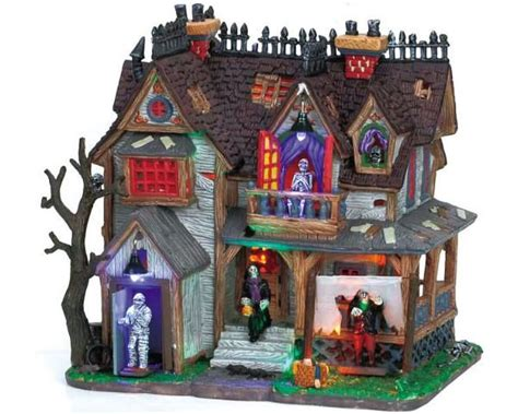 lemax halloween houses 17 best images about halloween lemax spook houses on pinterest cars christmas