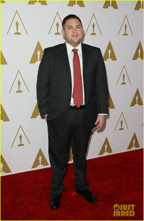 React To Oscar At Luncheon by Leonardo Dicaprio Jonah Hill Bring Wall To