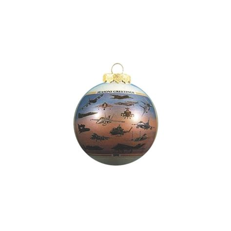 desert storm christmas tree aircraft ornament