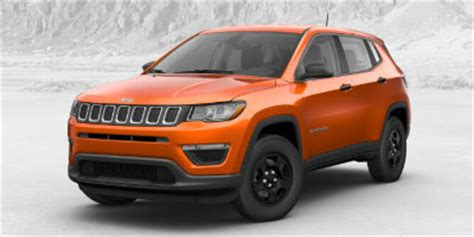 2017 jeep orange redesigned 2017 jeep compass color options