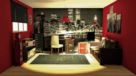 decoration de chambre new york