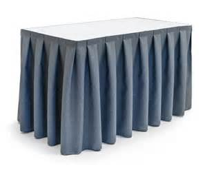 How To Make Buffet Table Skirting Juponnage De Buffet Et Tables De Pause Forbes