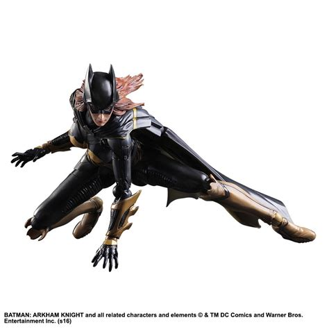 Ngpa68 Play Arts Batgirl Arkham Batman Dc Comics batman arkham batgirl play arts figure