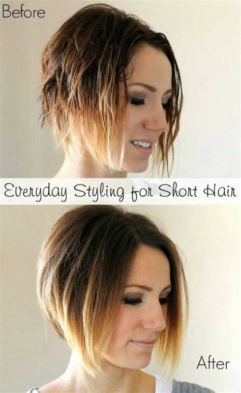 ombre short angled bobs 20 short haircuts for women 2015 2016 the best short