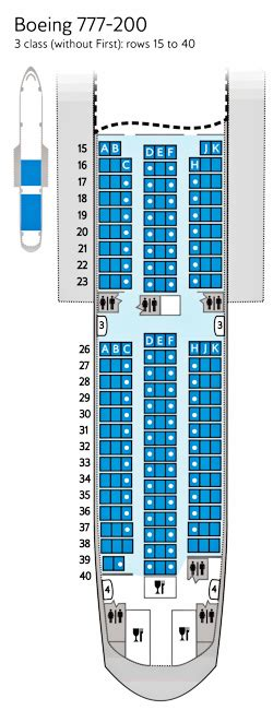 ba 777 seat map airways world traveller seat maps