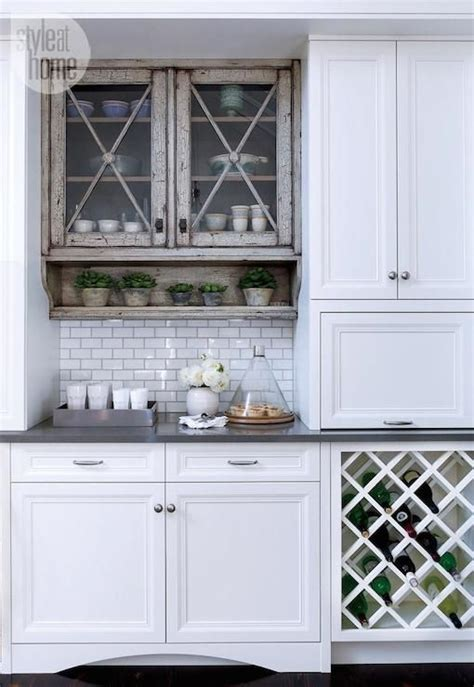 built in wine rack in kitchen cabinets style at home kitchens built in wine rack criss cross