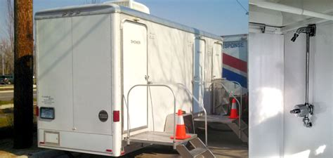 Portable Showers For Rent by Clean Indianapolis Portable Restrooms Trailers Showers