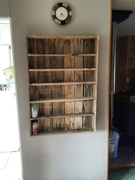 build spice rack shelves jars pictures of and glasses on