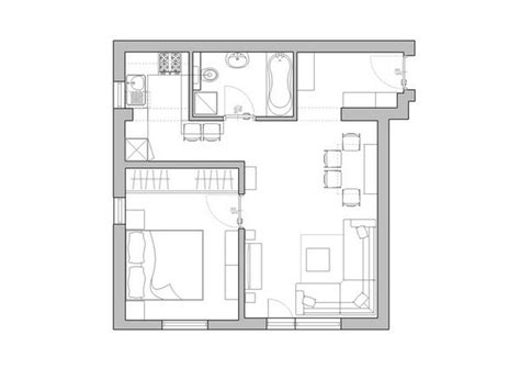 Tiny Apartment Floor Plans by Tiny House Floor Plans Small Apartments Floor Plans