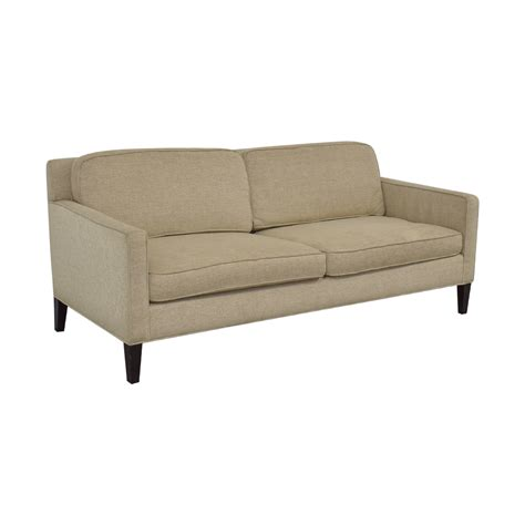 Crate And Barrel Rochelle Sofa by 85 Crate Barrel Crate Barrel Rochelle Beige Two