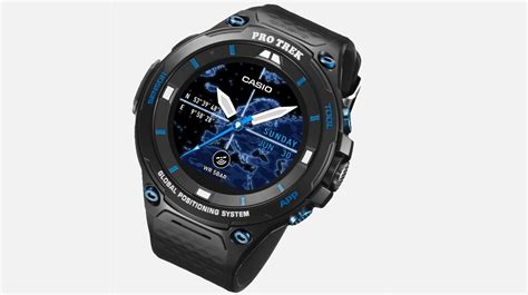 Casio Smartwatch Android casio s pro trek smart wsd f20s is a limited edition