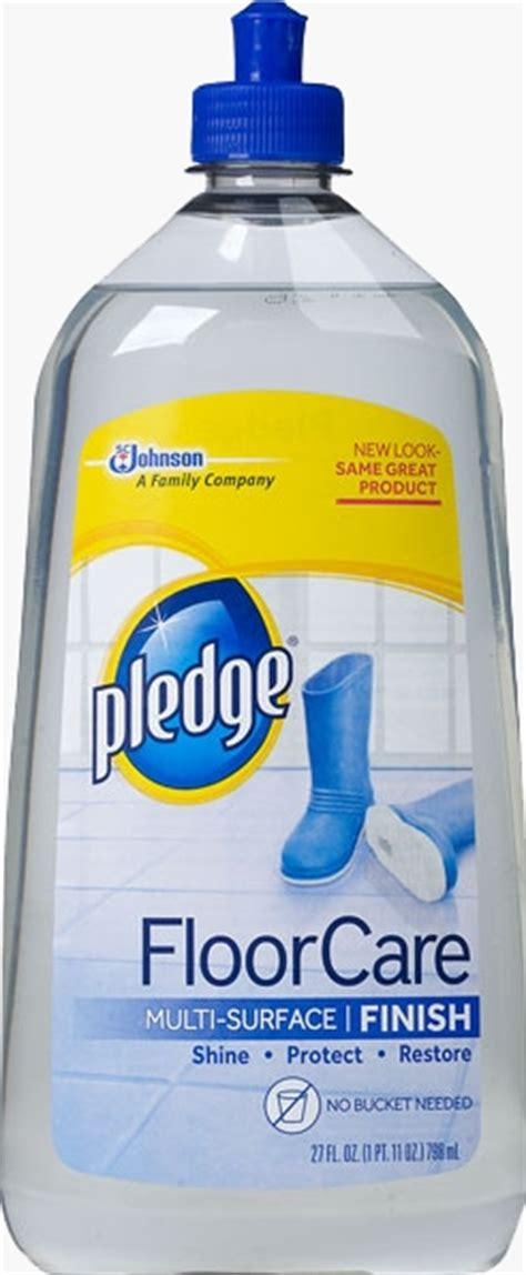 pledge floor care sc johnson
