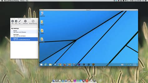 remote desktop rdp 3 remote desktop apps for os x mavericks