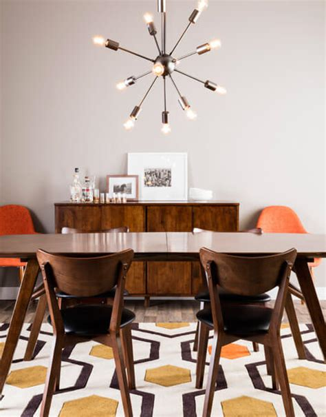 mid century modern dining how to get the mid century modern aesthetic in your dining