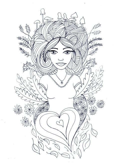 mother nature coloring page related keywords suggestions for mother nature coloring