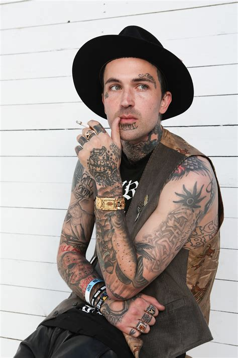 yelawolf face tattoos yelawolf 15 who are covered in tattoos