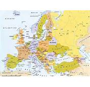 Mapa De Europa Con Division Politica Y Nombres  QUE HAY EN