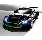 Schets Aston Martin Vantage GT2  Autoblognl