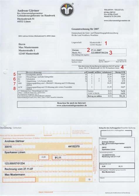 Rechnung Vom Kleinunternehmer Absetzen wichtige tipps und kunden informationen vom schornsteinfeger www schornsteinfegermeister de