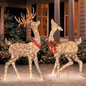 Reindeer outdoor christmas decorations wedding decorations ideas