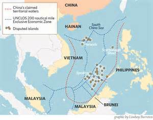 The u s warships would sail inside the 12 nautical mile zones that