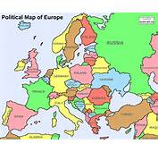 Europe Map  Pictures