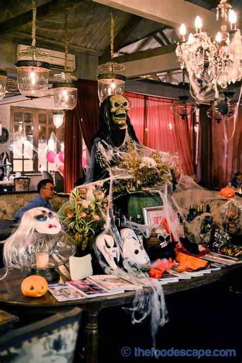 bistronomy halloween  house   dead jakarta food escape indonesian food blog