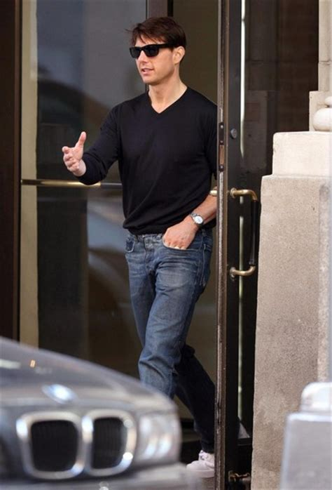 Tom Cruise Attacks Nyc by Tom Cruise In Tom Cruise Leaving His Apartment In New York