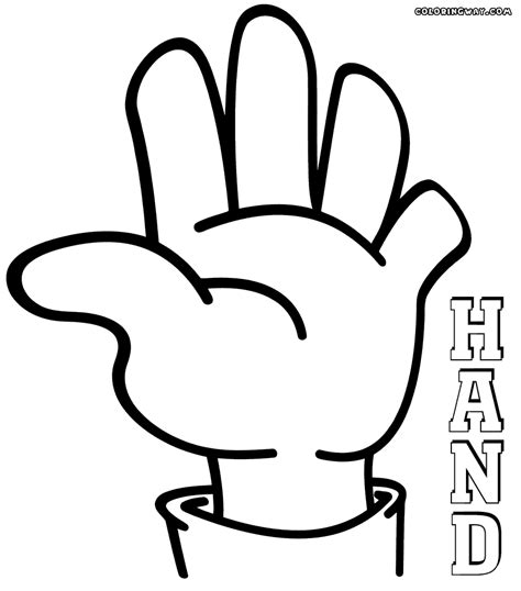 coloring page hands hands coloring pages coloring pages to download and print