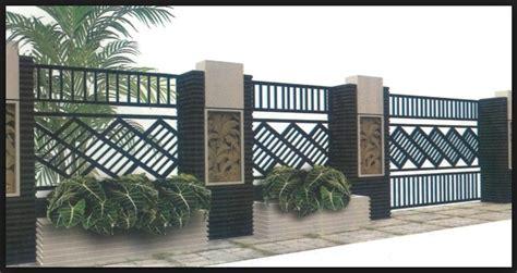 50 bentuk model pagar rumah minimalis paling keren rumah minimalis