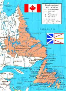 map of labrador canada newfoundland and labrador map1 the non conformer s