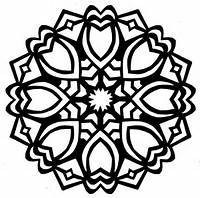 Meditation Mandalas Colouring Pages