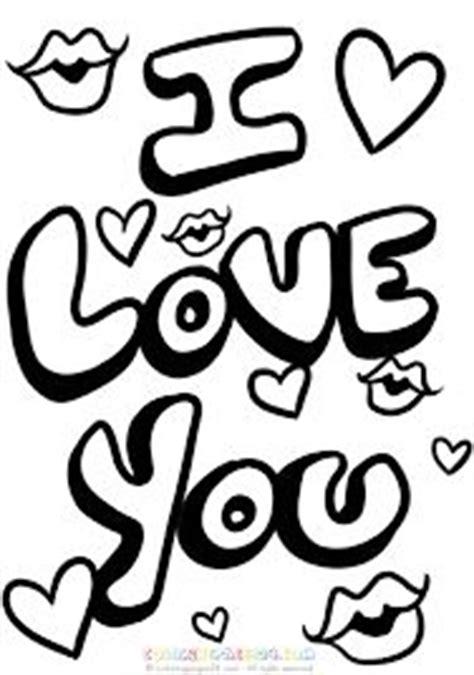 Afbeeldingsresultaat Voor Kleurplaten I Love You Mama
