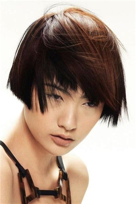 ear length bob hairstyles ear length asian women hairstyles pinterest
